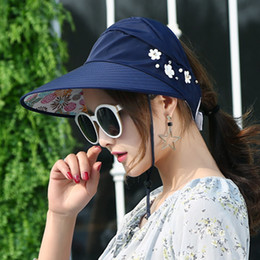 $enCountryForm.capitalKeyWord Australia - 2017 New Sun Hat Female Summer Folding Sun Visor Cap Ms Uv Hat Travel