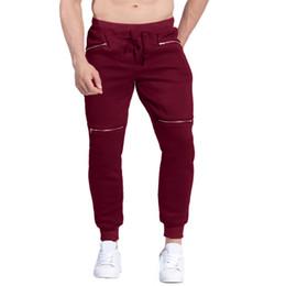 $enCountryForm.capitalKeyWord NZ - Winter Men Thicken Fleece Liner Track Pants Men's Baggy Velvet Sweatpants Male Joggers Casual Padded Tracksuit Bottoms Plus Size