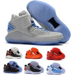 0da84cc1f29c 2018 new 32 XXXII mens Low Basketball Shoes Weaves vamp North Carolina blue  Black Red Grey Athletics Discount Sneaker Size 40-46