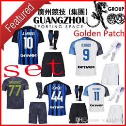 f14e0f0f9 ... 16 away soccer jersey  inter soccer jersey milan men set 2018 9 icardi  10 j mario kids kit 2017 home