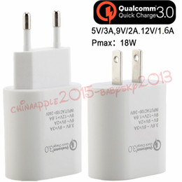 $enCountryForm.capitalKeyWord NZ - New 5V 3A 9V 2A 12V 1.6A QC 3.0 Eu US Fast quick charge Ac home travel wall charger power adapter for iphone 7 8 x samsung s7 s8 tablet pc