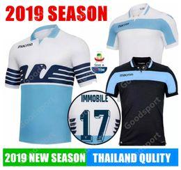 Großhandel 2018 2019 Lazio Fußball Trikot 18 19 LULIC IMMOBILE SERGEJ F.ANDERSON Heimspiel Fußball Trikots Trikot CALCIO FUTEBAL sport SR