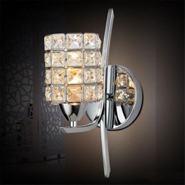 Pub wall lights dhgate uk bedroom crystal wall light free shipping modern polished chrome base living study dining room wall lamp pub club glaring fixtures home ligh mozeypictures Image collections