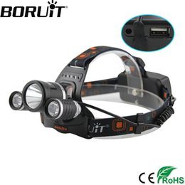 $enCountryForm.capitalKeyWord NZ - BORUiT 5000LM XM-L2 LED Headlamp 4-Mode Rechargeable Headlight Power Bank Head Torch Camping Hunting Lantern 18650 Battery