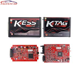 ecu programmer kit Australia - Sale Online EU V5.017 Kess V2 5.017 OBD2 Manager Tuning Kit Red KTAG V7.020 No Token K-TAG 7.020 Master V2.23 ECU Key Programmer
