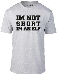 cb904aa39e2 Reality Glitch Men s I m Not Short I m An Elf T-Shirt