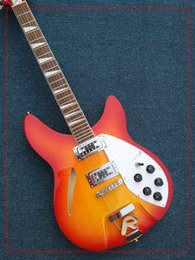 Body Top Model Canada - best china guitar Deluxe Model 360 12 strings electric guitar Semi Hollow new arrival Top quality OEM