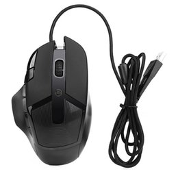 Chinese  Best Price 3200 DPI 8D Buttons LED Wired Gaming Mouse For PC Laptop manufacturers