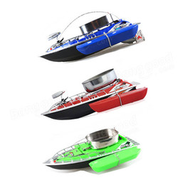 Wholesale Free ship Mini RC Fishing Bait Boat M Remote Control Fish Finder Boat Fishing Lure Boat