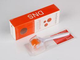 Dermaroller Wholesale NZ - DNS Bio Genesis Titanium 192 Needles Derma Roller Microneedle Roller Skin Body Beauty Roller Dermaroller For Skin Rejuvenation Anti Aging