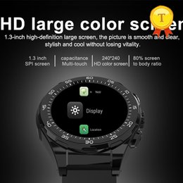 smart watch phone 4g NZ - best selling 4g man woman hd large color screen smart phone watch SIM Bluetooth 4.0 smart watch Heart Rate Tracker phone watch