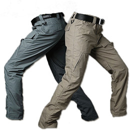 China tactical War Game Cargo pants mens silm Casual Pants mens trousers Combat SWAT Army military Active cheap tactical war games suppliers