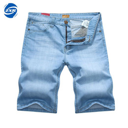 $enCountryForm.capitalKeyWord Canada - Denim Shorts Men Summer New Fashion Short Jeans For Men High Quality Mid Waist Casual Shorts Asian Size Men's