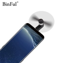 $enCountryForm.capitalKeyWord Australia - BinFul Mini Portable Mobile Phone USB Type c Fan USB-C Gadget Tester For Android LG Huawei Type-c phone