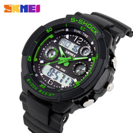 Chinese  S SHOCK 2017 Luxury Brand Men Sports Watches Military Army Digital LED Quartz Watch Wristwatch Relogio Reloj SKMEI Clock Relojes Y1892507 manufacturers