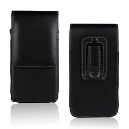 $enCountryForm.capitalKeyWord UK - Universal Belt Clip PU Leather Waist Holder Flip Pouch Case for DEXP Ixion B160 Ixion ES260 Navigator