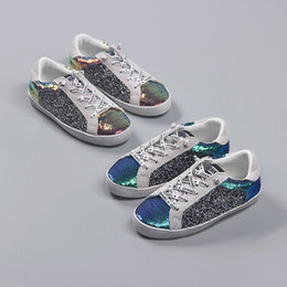 $enCountryForm.capitalKeyWord Australia - Baby Kids Shoes Fashion Hot Sale Children Sneakers Boys Girls Colorful Sequins Leisure Shoes Kids Running Sport Shoes Baby Christmas Gifts