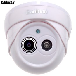 Wide Angle View Security Camera Canada - Gadinan 960P 25FPS 1.8mm Lens Ultra Wide Angle 120 Degree Dome Security Camera IP Camera Indoor CCTV ONVIF Phone View