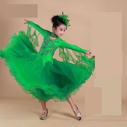 4d5cf49cfb6e dance costumes waltz 2019 - Children Standard Ballroom Dance Competition Dresses  Waltz tango Dresses Kids For