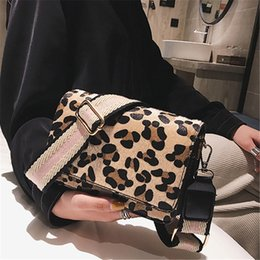 Hand Bags Leopard Prints Australia - Lady Shoulder Hand Bag Handbags Fashion Retro Sexy Leopard Print Small Flap Bags For Women 2018 Winter Crossbody Bags