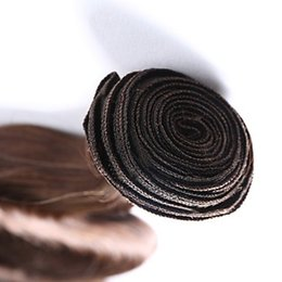 remy fashion hair weaves Australia - Fashion Season Peruvian Body Wave Hair Weaving 100% Human Hair Weave 6a Medium Brown Color Peruvian Remy Hair Extensions 10-30 Inchs