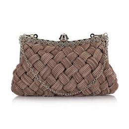 $enCountryForm.capitalKeyWord UK - Evening Bags Brand Designer Elegant Women Knitting Evening Bags Lady Wedding Clutch Chain Shoulder Bag Purses Messenger Luxury Handbag