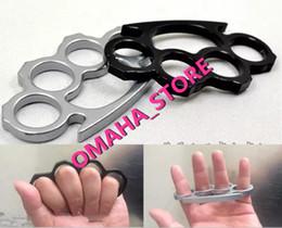 (Черный или серебристый) Тонкие стальные латунные суппорты, самозащита Личная безопасность Женщины и мужчины Самозащита Подвеска Бесплатная доставка
