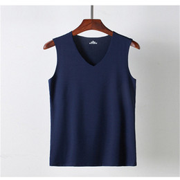 e294b32cc5b67 White silk tops short sleeves online shopping - Summer Party Vest Men  Casual Beach Summer Tank
