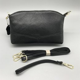 $enCountryForm.capitalKeyWord Australia - First layer Cowhide Mini Ladies bag can be hand-held Korean version of the compartment bag multi-function Ladies 2018 new