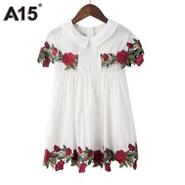 $enCountryForm.capitalKeyWord UK - A15 Girls Dress Summer 2017 Brand White Lace Dress Flower Kids Dress for Girls Children Teenage Clothes Age 2 3 4 5 6 14 16 Year