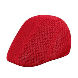 $enCountryForm.capitalKeyWord UK - Casual Solid Color Breathable Mesh Beret Sun Cap Man Woman Outdoor Sports Hat