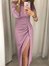 Custom Print T Shirt Cheap Australia - 2019 sexy Split Evening Dresses Rami Salamoun Appliqued off shoulder bandage Sequins Long Prom Dress Real Images Cheap Formal Gowns