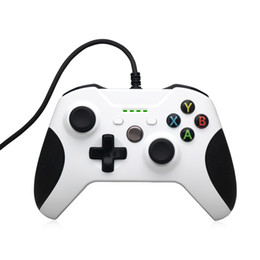 China Newest White USB Wired Gamepad Remote Controller For XBOX One Slim S Controller Joystick for XBOX One Slim ONEs Game Controller suppliers