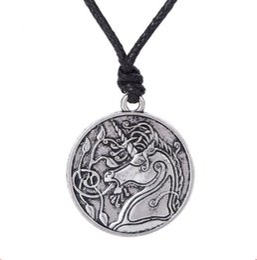 $enCountryForm.capitalKeyWord UK - Pendant Necklace For Female Male Medieval Unicorns And Plant Charm Viking Necklace Personality Good Gift Zinc Alloy Dropshipping