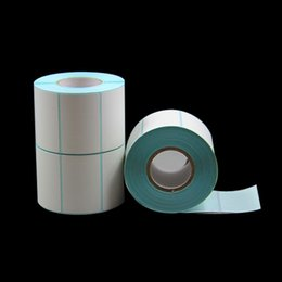 Thermal Paper Rolls Australia - 700pcs roll Direct print thermal paper label packing seal label sticker mall price blank cheap price sticker paper in roll