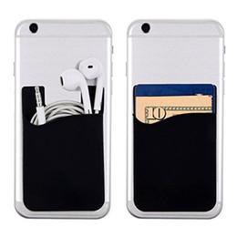 $enCountryForm.capitalKeyWord NZ - Portable designer card holder luxury Phone wallet Bus Card Business Credit ID Card Holder Case Pocket on 3M Adhesive Fashion Sticker