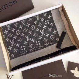 Top Qualtiy Marca De Luxo Padrão Lenço carta mulheres Cachecol de seda de lã Caxemira designer cachecol Xale Senhoras Lenços Quentes Tamanho 180x80 cm