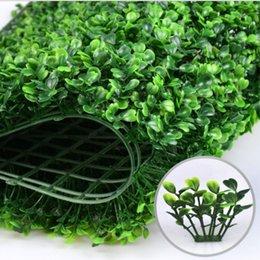 Spedizione gratuita erba artificiale plastica bosso mat topiaria albero erba di milano per giardino casa decorazione di nozze piante artificiali