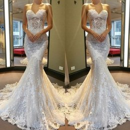 f1d23a036b09 Beads wedding dresses mermaid romantic online shopping - Romantic Soft  Tulle Beaded Sequined Lace Wedding Dresses