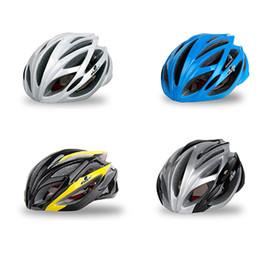 Men Cycling Helmets Australia - Ultralight Bicycle Helmet Adjustable Bike Cycling Helmets with Light Size 57-61 Mountain Bike Helmet Mtb Road Man #3O19