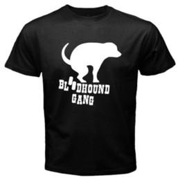 Logo Shirts For Men Canada - Tee Shirt Ideas O-Neck Funny Short Sleeve New BLOODHOUND GANG Logo Rock Band Men's Black T-Shirt Size S to 3XL T Shirt For Men