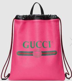 Glitter Spandex Man Canada - Print leather drawstring backpack 494053 Men SHOULDER BAGS TOTES HANDBAGS HANDLES CROSS BODY MESSENGER BAGS