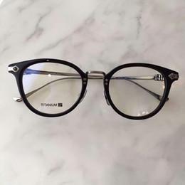 5722f666112 Chrome Eyeglass Frames NZ - New eyeglasses frame women men brand designer eyeglass  frames designer brand