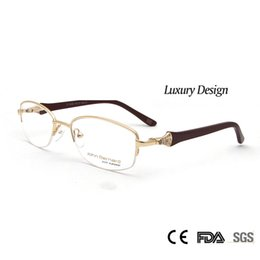 75d48449e2d Sorbern High Quality Women Metal Eyeglasses Frames Optical Diamond Luxury  Rshinestone Design Glasses Myopia Eyewear Oculos
