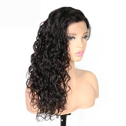 Human Hair Lace Wigs Queen UK - Lace Front Human Hair Wigs For Black Women Water Wave Pre Plucked Brazilian Remy Hair Lace Wig With Baby Hair Charming Queen