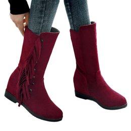 $enCountryForm.capitalKeyWord UK - wholesale Women Boots Winter Super Warm Snow Boots Women Suede Ankle Boots For Female Winter Shoes Botas Mujer Plush Booties#25