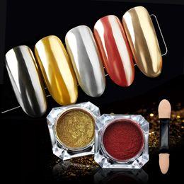 $enCountryForm.capitalKeyWord Australia - 1PC Nail Glitter Dust Mirror Effect Nail Art Chrome Pigment Holographic Powder Manicure Decorations