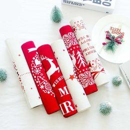 $enCountryForm.capitalKeyWord Australia - 270cm X 28cm Christmas Print Table Runner Placemats Tablecloth Mat Santa Snowflakes Festive Wedding Xmas Party Banquet Decor