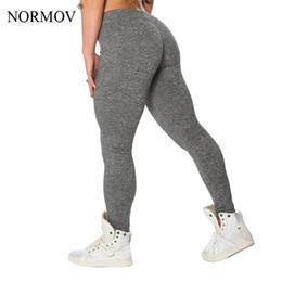 $enCountryForm.capitalKeyWord Australia - NORMOV S-XL 3 Colors Casual Push Up Leggings Women Summer Workout Polyester Jeggings Breathable Slim Leggings Women