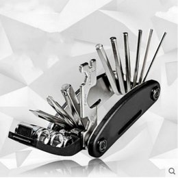 Set wrencheS online shopping - 16 In Bike Repair Tool Metal Multi Function Wrench Screwdriver Chain Cutter Sets Bicycle Hexagon Screw Combination tj B